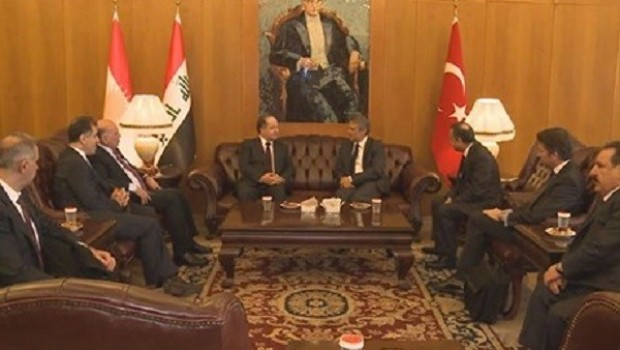 Başkan Mesud Barzani İstanbul'da