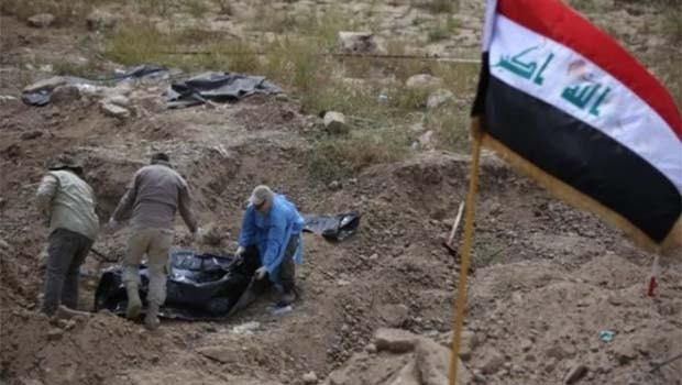 Musul'da IŞİD'in toplu mezarı bulundu; Sayı korkunç!