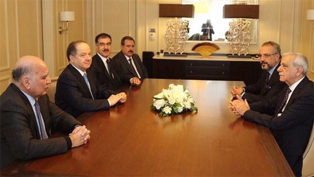Başkan Barzani, Ahmet Türk ve Sırrı Sakık'ı kabul etti