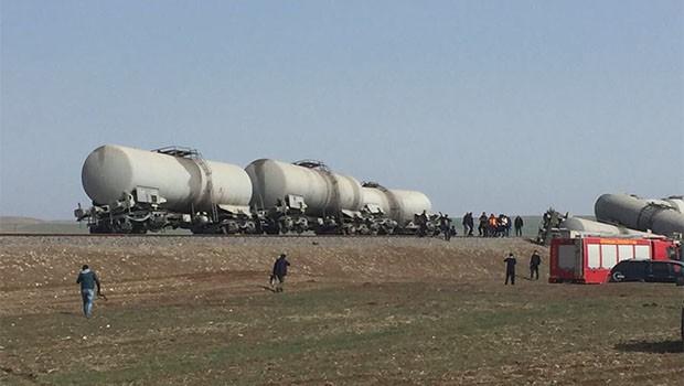 Diyarbakır'da trenin geçişi sırasında patlama