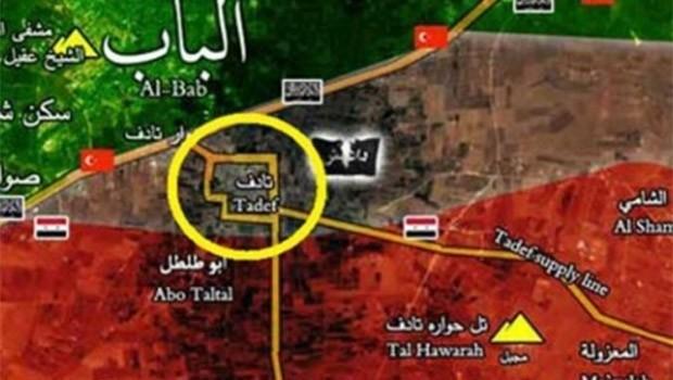 El Bab'da ÖSO ve Suriye ordusu arasında çatışma