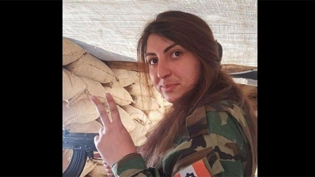 PAK'ın kadın Peşmergesi Zara Xulami şehit oldu