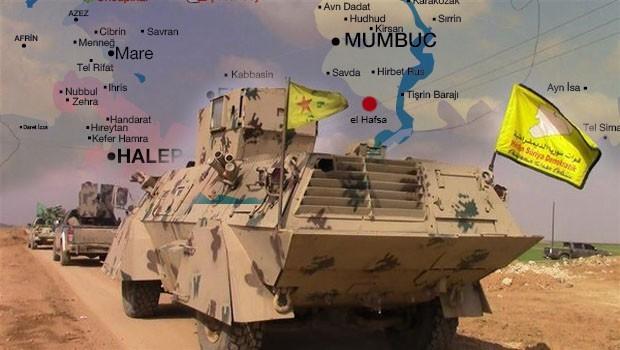 QSD, Menbic'in güneyindeki el Hafsa'ya doğru ilerliyor