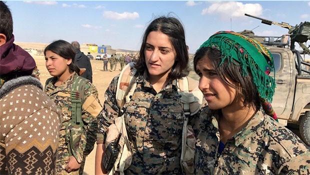 CENTCOM, Kürt kadın savaşçılarının fotoğraflarını yayınladı
