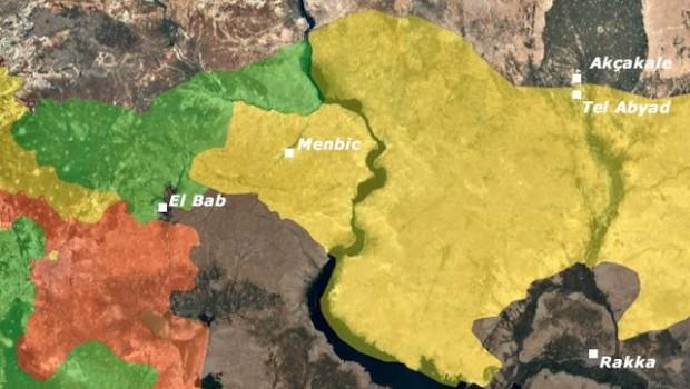 Menbiç'te QSD ve ÖSO arasında 3 bölgede çatışma