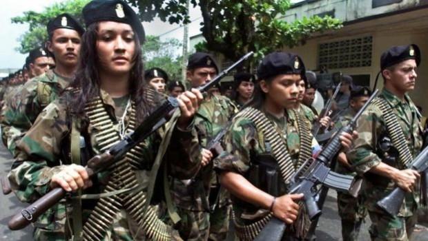 FARC Gerillaları silah bırakmaya başladı