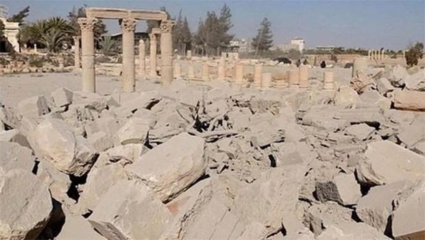 Palmira 'bir kez daha' IŞİD'den kurtarıldı
