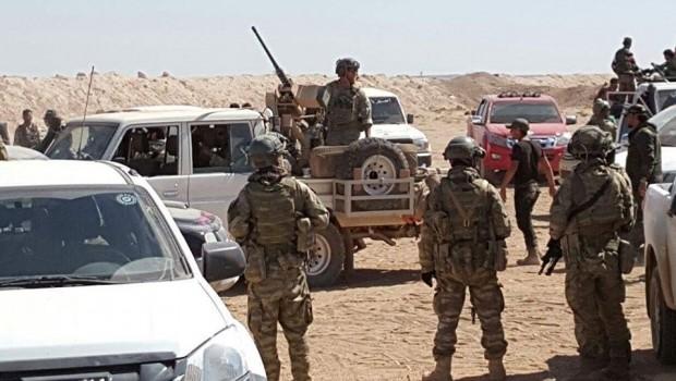 ABD Deniz Piyade Birliği Rojava'da