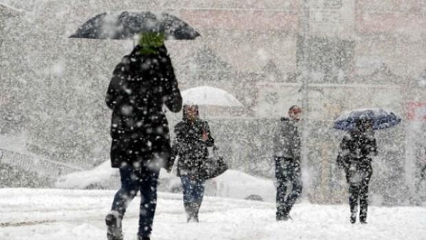 5 Kürt ili için kuvvetli kar yağışı uyarısı!
