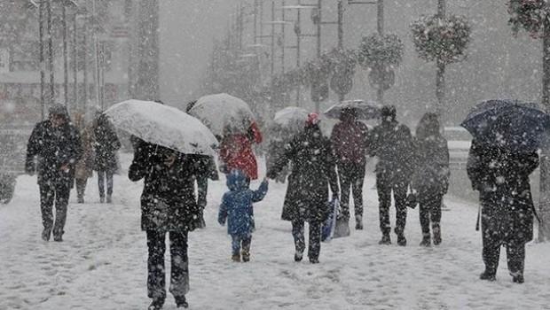 Kürt bölgelerinde,Yoğun kar yağışı uyarısı