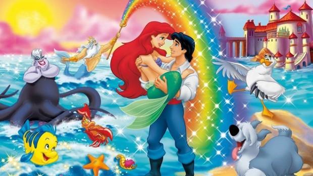 Ariel'den Arielle'ya: Küçük Deniz Kızı
