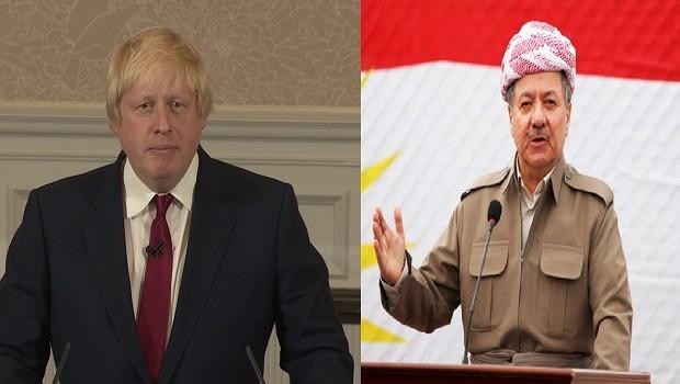 İngiltere'den Başkan Barzani'ye Kürtçe Newroz mesajı