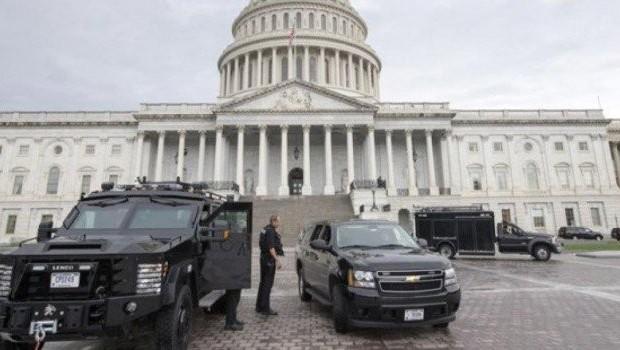 ABD'de Kongre binası yakınlarında ateş açıldı