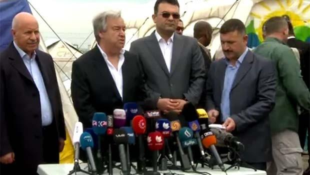 BM Sekreteri Guterres:  Kürdistan Hükümeti büyük bir çaba gösteriyor