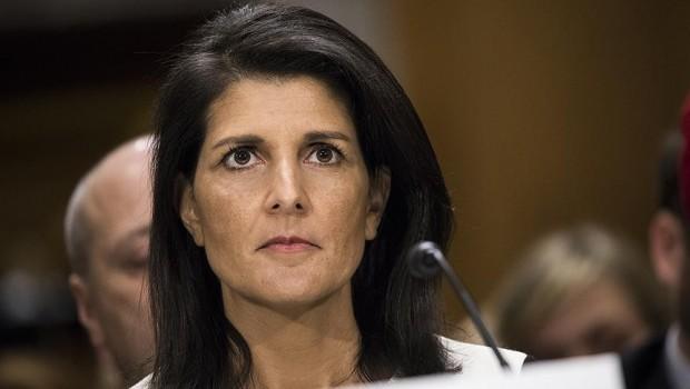 ABD'nin BM Daimi Temsilcisi Haley'den 'Esad' açıklaması