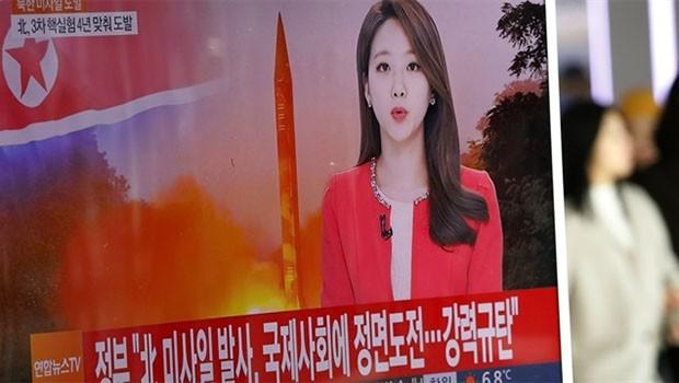 Kuzey Kore yeni füze fırlattı