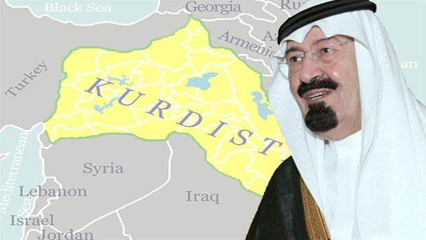 Suudi Arabistan, Kürt Devleti'nin kurulmasını istemiş!