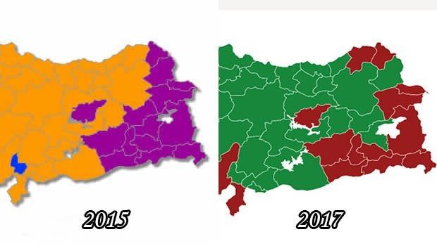 Referandumda Kürt kentlerinde dikkat çeken detay...