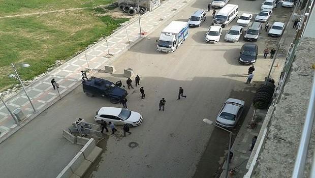 Suruç'ta bombalı saldırı girişimi