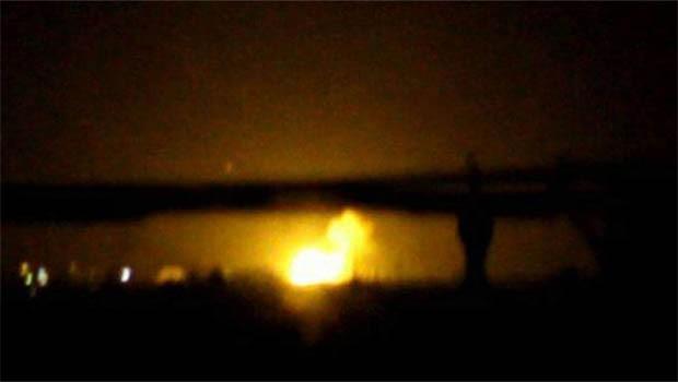 Şam'da uluslararası havalimanında patlama