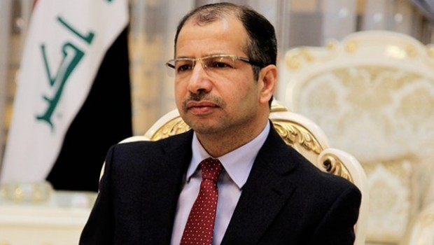Irak Meclis Başkanı'ndan 'Musul'a havadan yardım' çağrısı