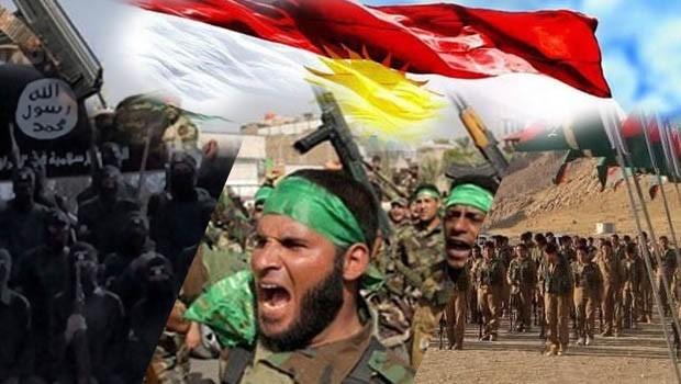 Kürdistan'da ki Bağımsızlık Yürüyüşü, IŞİD, Haşdi Şabi ve PKK