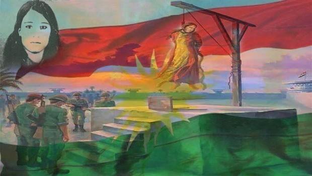 Leyla; Kürdistan'ın yiğit kızı