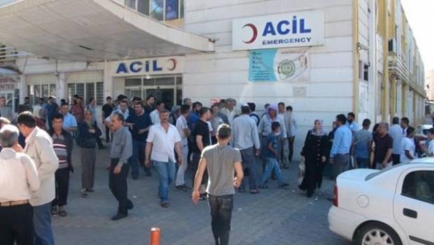 Urfa'da hastane önünde silahlı kavga