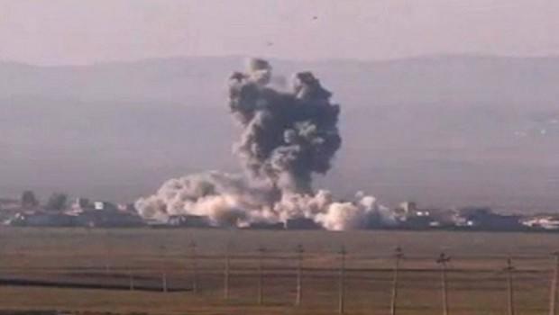 Savaş uçaklarından bildiri attılar! Hareket eden her araç vurulacak...