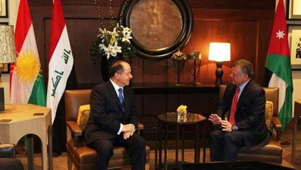 Başkan Barzani Ürdün'de