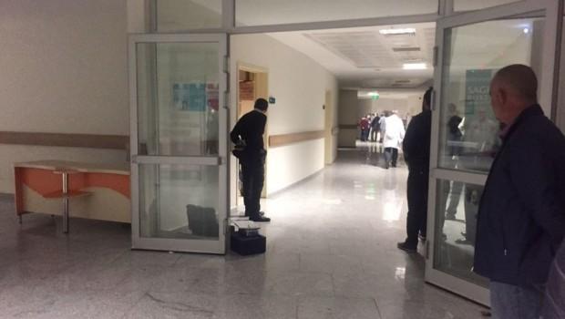 Kars'ta bir hastanede silahlı saldırı
