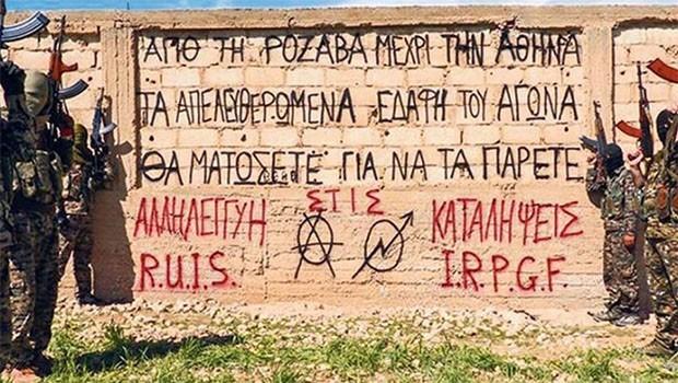 Dünya anarşistlerinin tecrübe kazanma arenası: Rojava