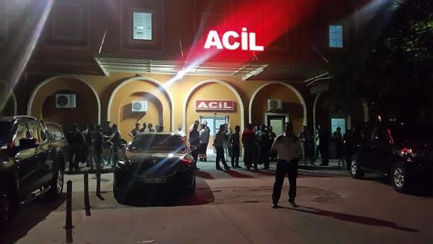 Kızıltepe'de polis aracına bombalı saldırı
