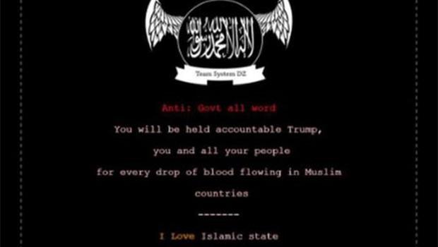 IŞİD, ABD'de siber saldırı düzenledi