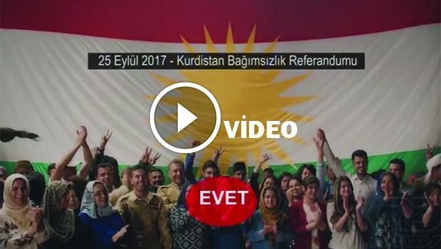 Bağımsız Kürdistan Referandumu fragmanı