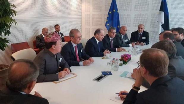 Başkan Barzani, Hristiyan grubu Başkanı'yla görüştü