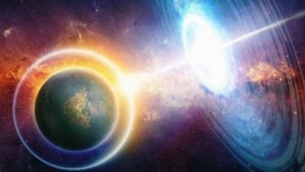İlk kez bir madde Dünya'nın yörüngesine ışınlandı