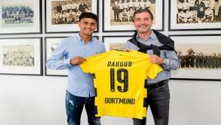 Rojavalı futbolcu Dortmund'la imzaladı