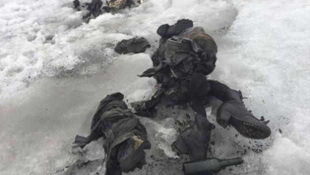 İkinci Dünya Savaşı'nda kaybolmuşlardı.. Cesetleri yeni bulundu!
