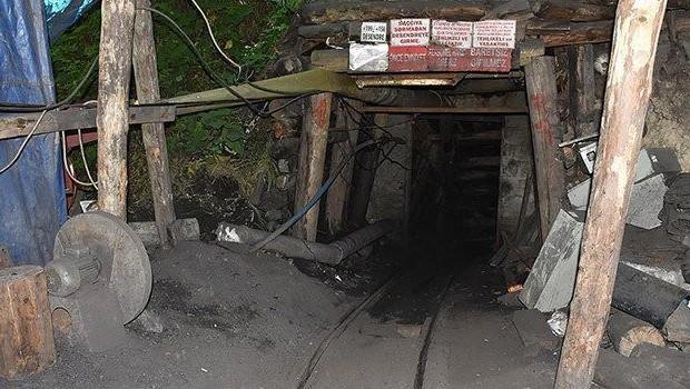 Elazığ'da madende göçük