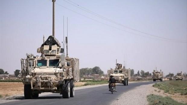Reuters, ABD'nin QSD'ye yaptığı son silah konvoyunu görüntülendi