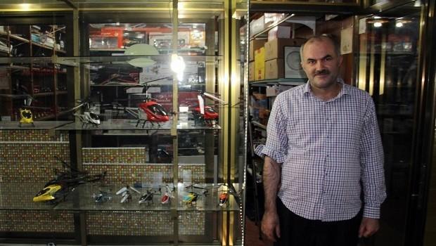Diyarbakır - Helikopter pilotu olamadı ama helikopter tamircisi oldu