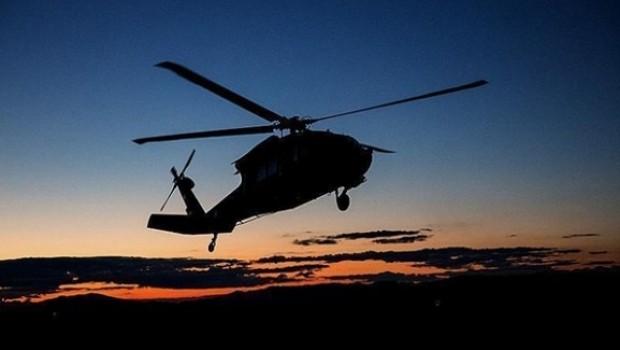 ABD helikopteri Yemen'de düştü