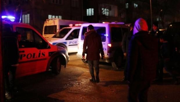 Antep'te polise saldırı