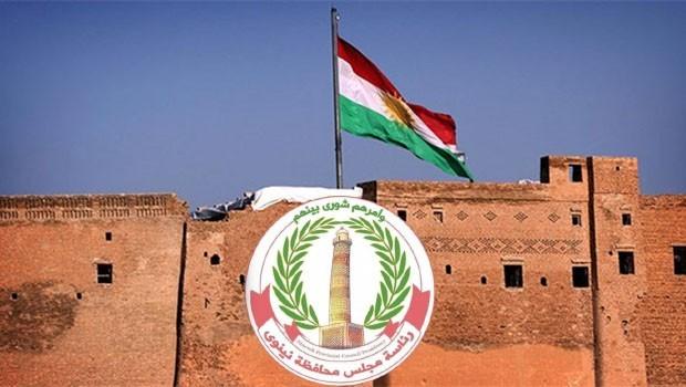 Ninowa Vilayeti Meclisi'nden Kürdistan Referandumu talebi