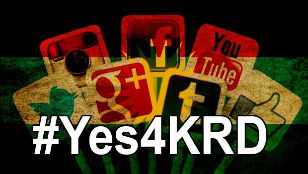 Sosyal medyada Referanduma destek: #Yes4KRD