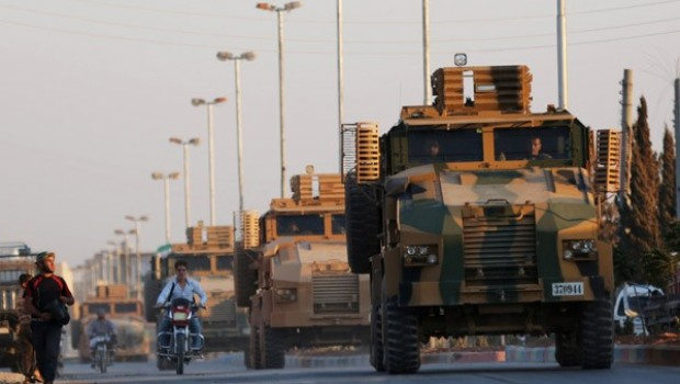 Reuters, Türk Ordusu'nu El Bab'da görüntüledi