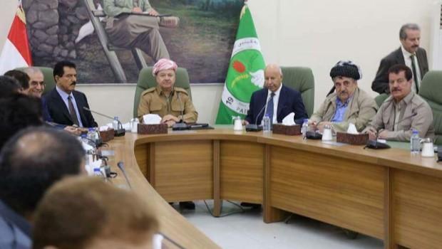 Başkan Barzani'den Kerkük'e ziyaret