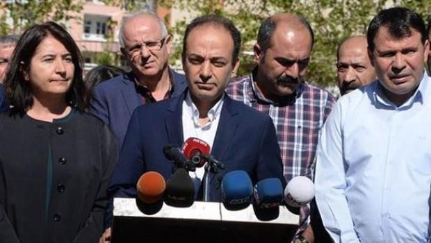HDP heyeti, Mam Celal'in cenaze töreni için Süleymaniye'de