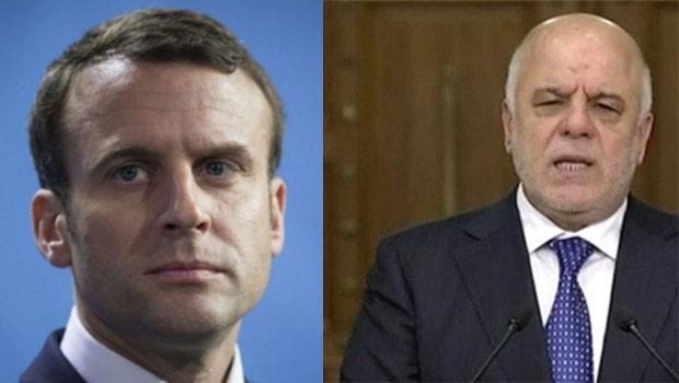Macron ve Abadi referandumu görüşeceklerler